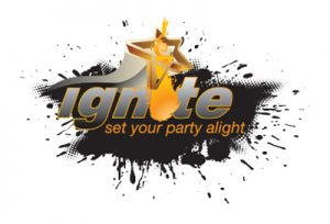 Ignite Party Band Norwich working alongside DJ Sebina Norwich wedding disco supplier